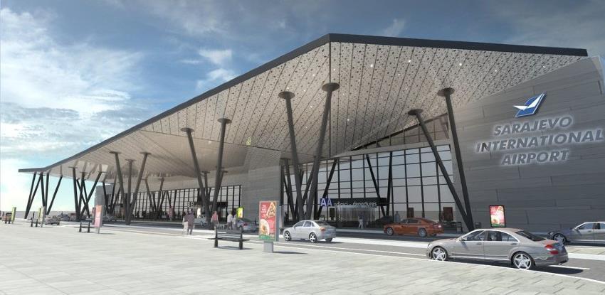 Izgradnja nove zgrade terminala Aerodroma Sarajevo trebala bi biti gotova do kraja godine