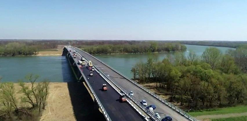 Izgradnja mosta kod Svilaja u završnoj fazi