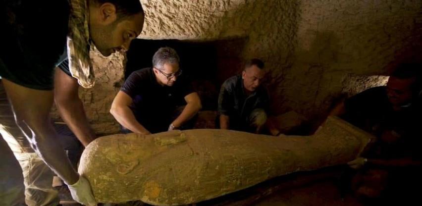 Drveni kovčezi stari oko 2.500 godina pronađeni u Egiptu