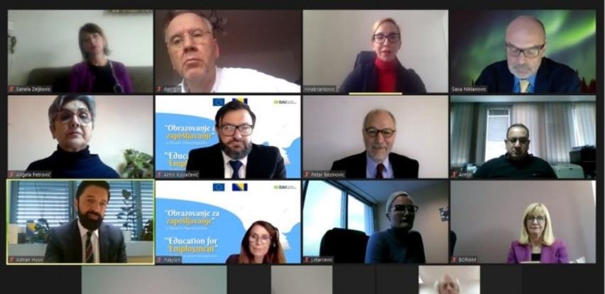 """Ozvaničen početak projekta """"Obrazovanje za zapošljavanje"""" koji finansira EU"""