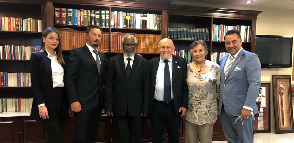 Delegacija kompanije TRB iz Bratunca posjetila Oca nacije Namibije