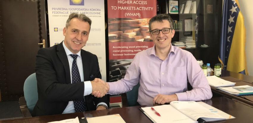 PKFBiH i USAID WHAM potpisali ugovor o dodijeli granta