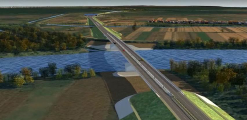 Sutra spajanje mosta na Savi kod Gradiške