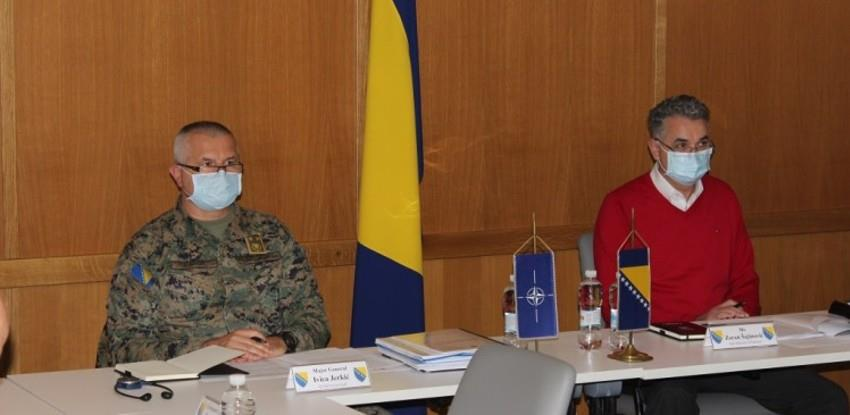 Razmatrana PARP Procjena BiH s predstavnicima Glavnog štaba NATO iz Brisela