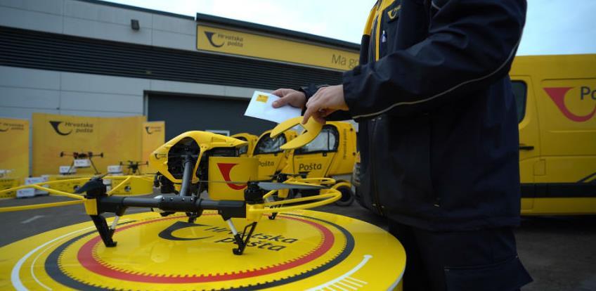 U Hrvatskoj uspješno obavljena prva dostava dronom