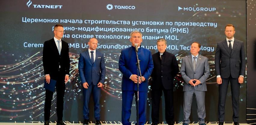 MOL i Tatneft grade novi pogon za proizvodnju bitumena u Rusiji
