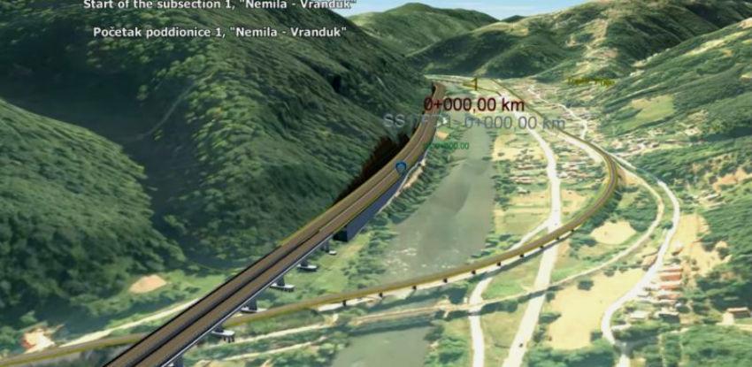 Pogledajte kako će izgledati dionica Nemila – Zenica sjever