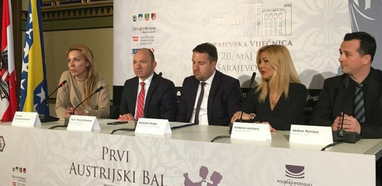 Sarajevo prvi put domaćin Austrijskog bala