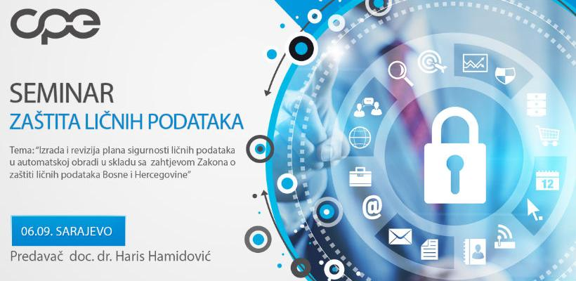 Seminar o zaštiti ličnih podataka