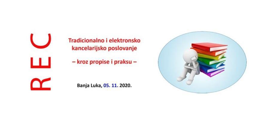 Tradicionalno i elektronsko kancelarijsko poslovanje kroz propise i praksu
