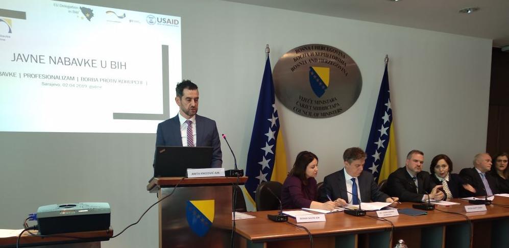 Vlasti u BiH moraju što prije da donesu Zakon o javnim nabavkama