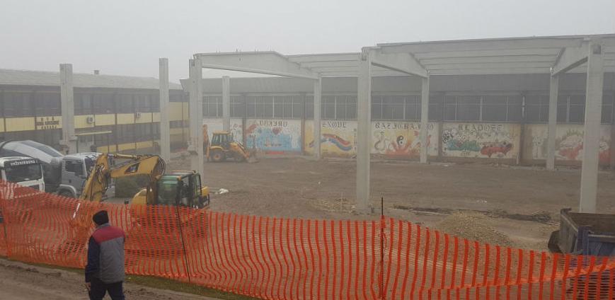 Napreduju radovi na izgradnji nove sportske dvorane u Kaknju