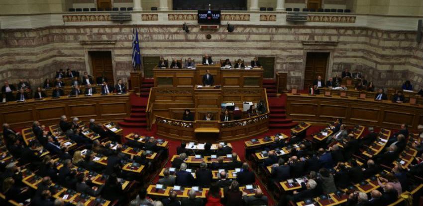 U grčkom parlamentu izglasan sporazum o promjeni imena Makedonije