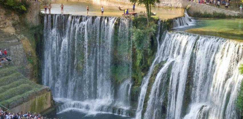 Brtan: Međunarodni natjecateljski skokovi s vodopada promoviraju ljepote Jajca