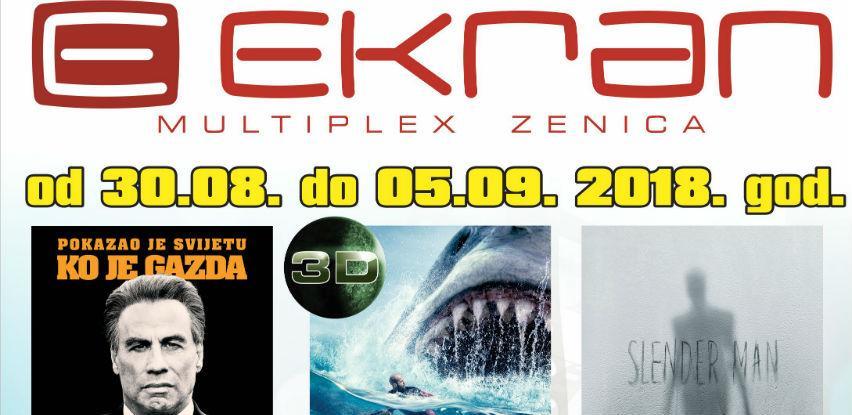 U Ekranu Zenica novi naslovi od 30. augusta