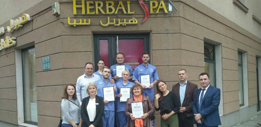 Dodijeljeni certifikati za II ciklus obuke u kompaniji Herbal Spa
