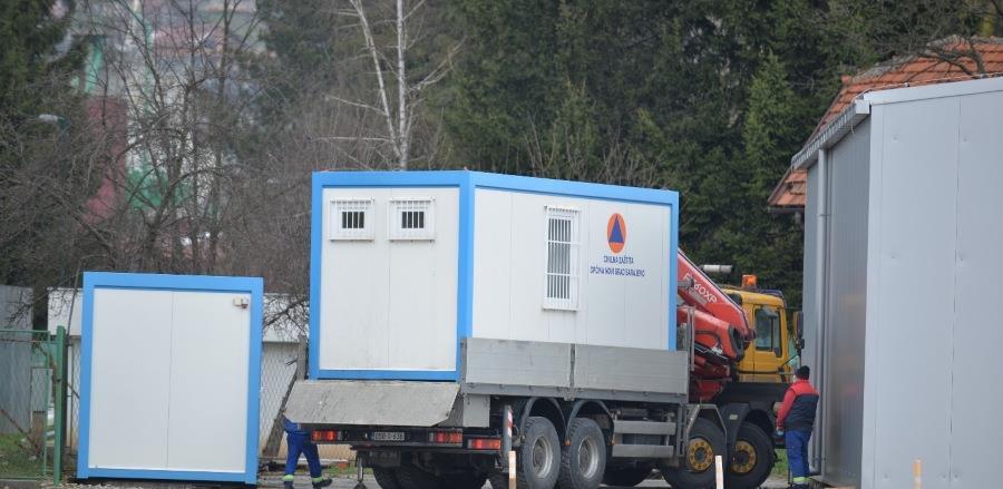 Gerontološkom centru isporučen kontejner za presvlačenje i dezinfekciju opreme