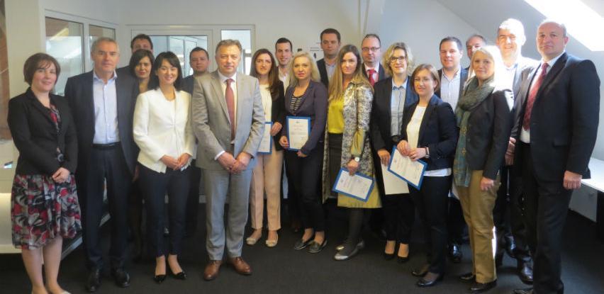 Uručeni certifikati za 17 novih mentora koji su osposobljeni uz podršku JICA