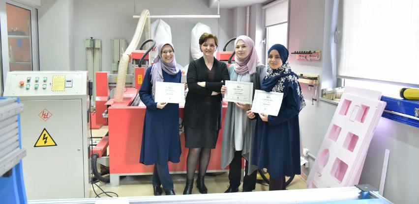 Studentice i studenti IUS-a uspješno završili CNC obuku