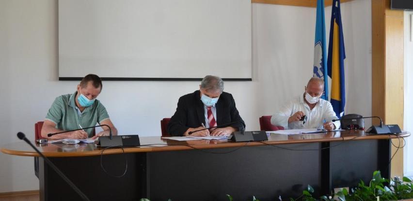 Potpisan ugovor za rekonstrukciju biciklističke staze u ulici Azize Šaćirbegović
