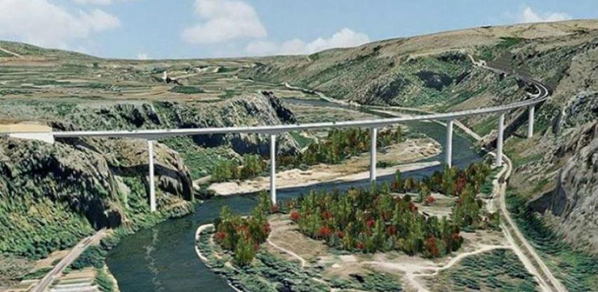Počela gradnja mosta i autoputa kod Počitelja