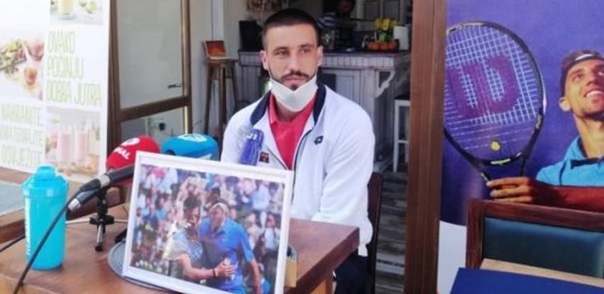 Džumhur: Ostaje žal što meč protiv Đokovića u Sarajevu nije održan