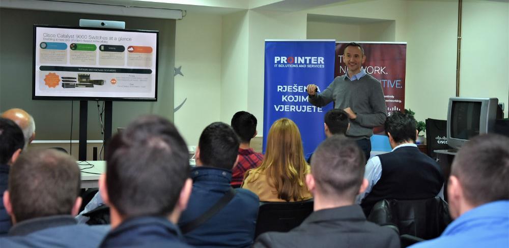 Cisco i Prointer predstavili najsavremenija mrežna rješenja (FOTO)