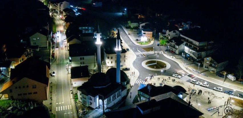 U Bužimu otvoren novoizgrađeni kružni tok i trg