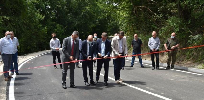 Rekonstruisana i posljednja dionica na regionalnom putu Tuzla - Čelić