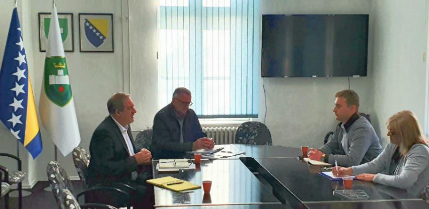 """INZ Zenica i Grad Visoko dogovorili partnerstvo na sajmu """"Jesen u Visokom"""""""