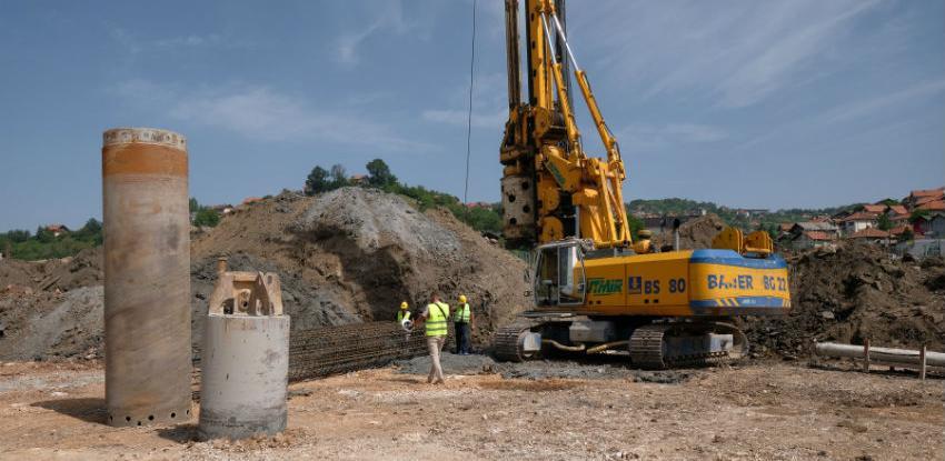 Počela izgradnja mosta preko željezničke pruge na 9. transverzali u Sarajevu