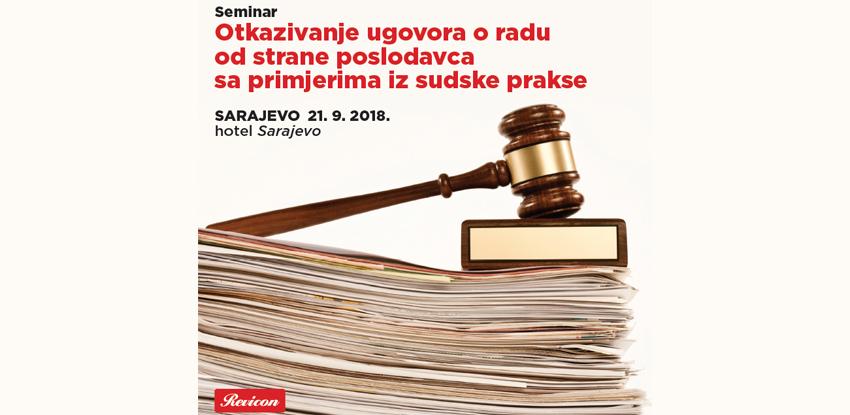 Revicon seminar: Otkazivanje ugovora o radu od strane poslodavca