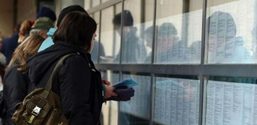 Na evidenciji Službe za zapošljavanje ZDK 61.801 osoba