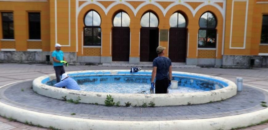 Počela obnova gradskih fontana u Mostaru