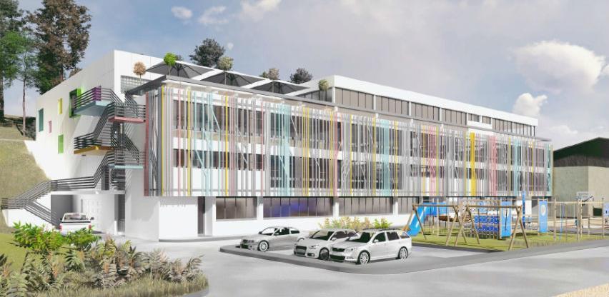 """Eko-Teh počinje radove na izgradnji sportske dvorane uz školu """"Umihana Čuvidina"""""""