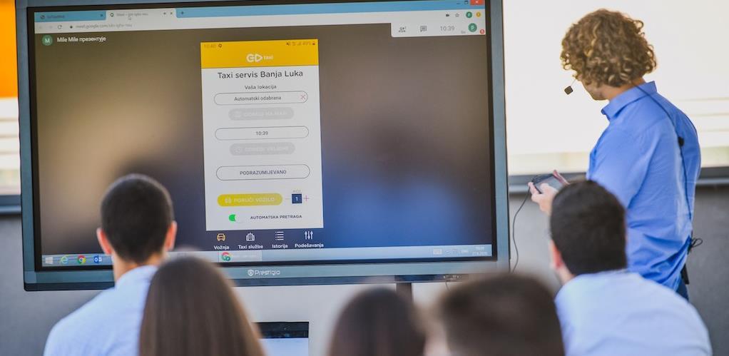 """Studenti tehničkih fakulteta iz zemlje i regiona kreirali IoT rješenje """"GoTaxi"""""""