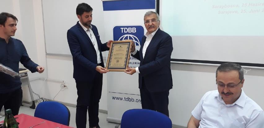 Gradu Gračanica uručen Certifikat o prijemu u Savez gradova turskog svijeta