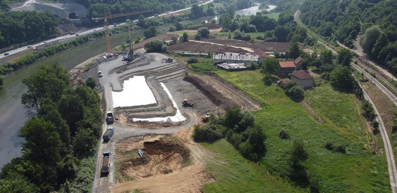 Predloženo rješenje za korekciju projekta izgradnje Koridora Vc kod Nemile
