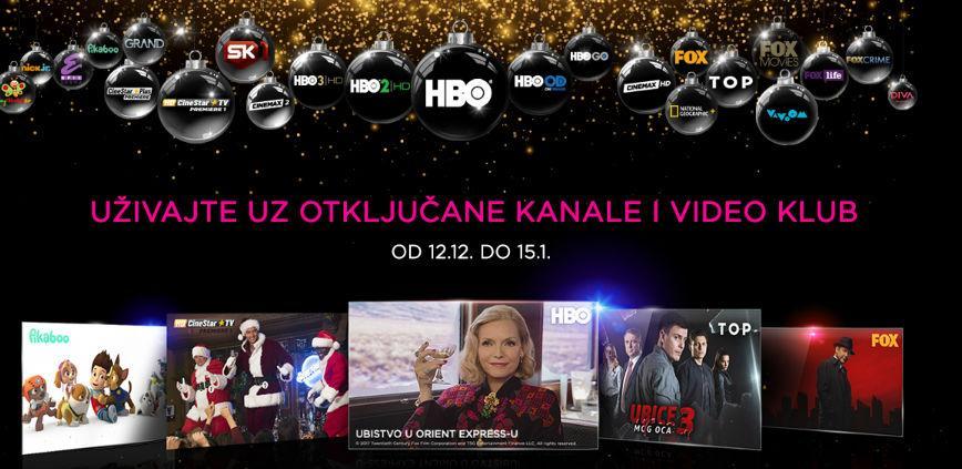 Novogodišnji poklon: Telemach otključava sve kanale