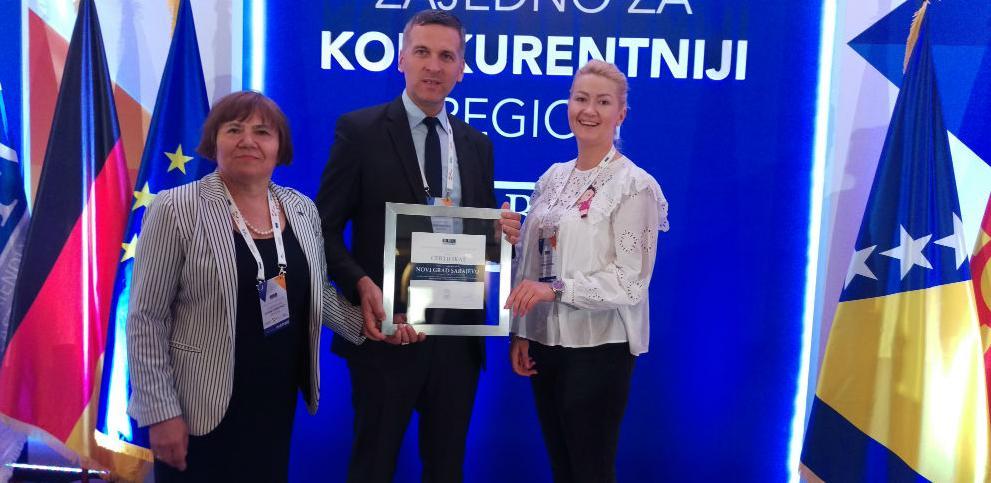 Općini Novi Grad Sarajevo dodijeljen BFC certifikat