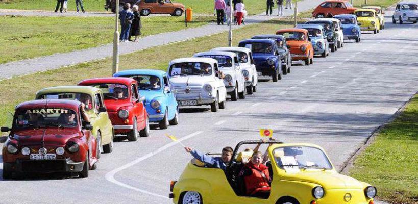 Fićo Fest: Međunarodni skup vlasnika legendarnog automobila na Baščaršiji