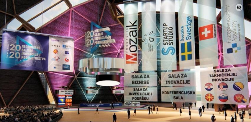 Više od 1000 posjetilaca na virtuelnom Sajmu inovacija i poduzetništva