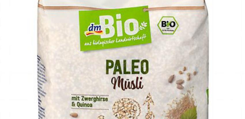 Povučen proizvod DM Bio Paleo müsli od 500 grama