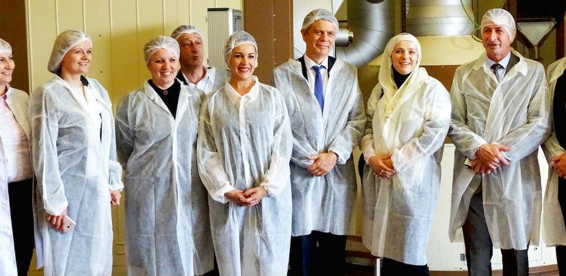 Šef delegacije EU Lars Wigemark posjetio Vispak