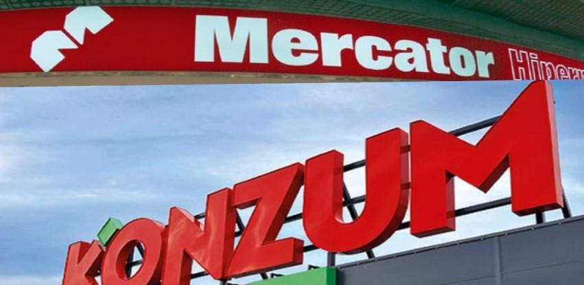 Nova uprava Konzuma i Mercatora u Bosni i Hercegovini