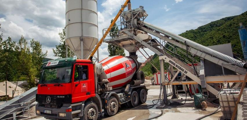 Fabrika cementa Lukavac otvorila treću betonaru