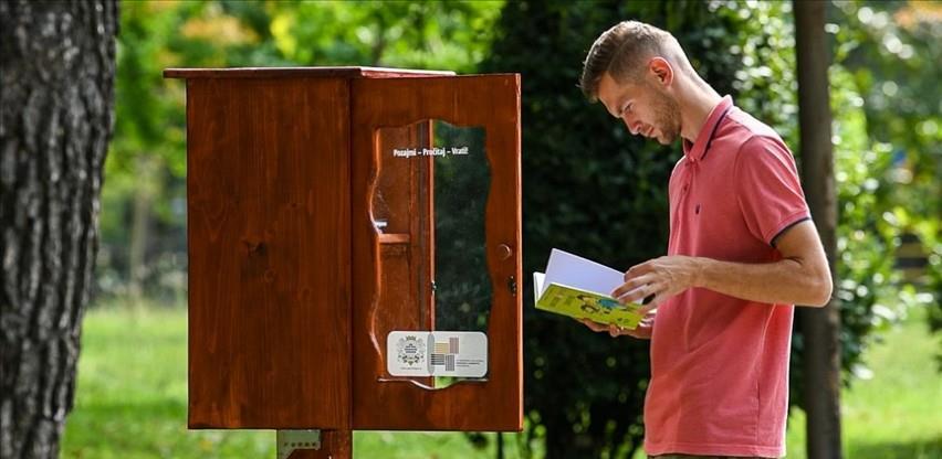 Zanimljiva akcija grada Podgorice: Postavljene mini biblioteke u parkovima