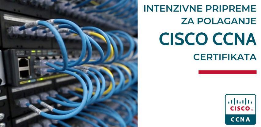Kurs: Intenzivne pripreme za polaganje Cisco CCNA certifikata