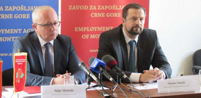 Crna Gora državljanima BiH izdala 2.750 dozvola za rad