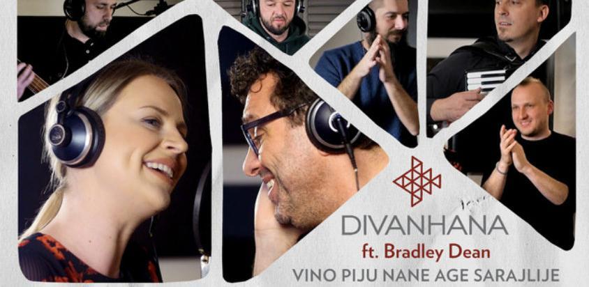 Poslušajte 'Vino piju nane age Sarajlije' u izvedbi Divanhane i Bradley Deana